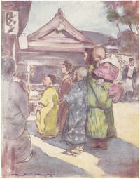 "image of Original 1905 Print ""Watching the Play"" from Japan : a Record in Colour"