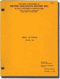 image of Made in Paris (Original screenplay for the 1965 film)
