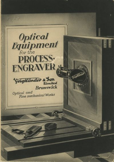 Brunswick: Voigtländer & Son, 1926. First edition. 8vo., 15 pp., illustrations, some folding, on...