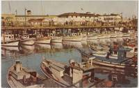Fisherman's Wharf, San Francisco, California, used Postcard
