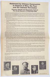 image of Statement by Chinese Communists in Support of Mao, the Four and the Chinese Revolution [poster]