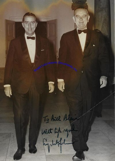 LYNDON B. JOHNSON (1908-1973). Johnson was the Thirty-Sixth President. WILLIAM BLAIR (1916-1915). Bl...