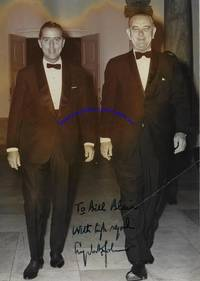 Lyndon Johnson Signs A Photograph To Ambassador William Blair