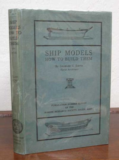 Salem MA: Marine Research Society, 1925. 1st edition. Blue cloth. Blue-green dust jacket. NF/VG+.. 1...