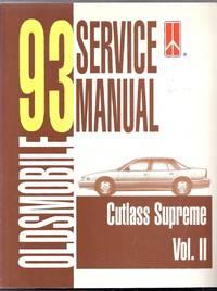 1993 Oldsmobile Cutlass Supreme Service Manual Volume II (2)