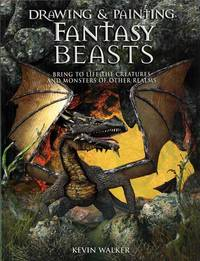 image of Drawing & Painting Fantasy Beasts.  Bring to Life the Creatures and Monsters of other Realms