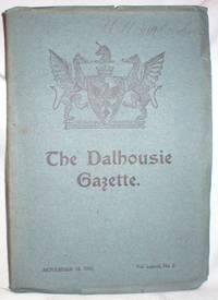 The Dalhousie Gazette, Nov. 18, 1905 (Vol. xxxviii, No. 2)