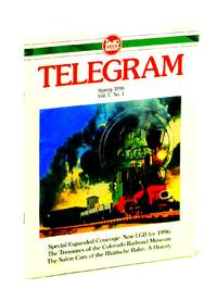 [LGB] Telegram [Magazine], Spring 1996, Vol. 7, No. 1 - Salon Cars of the Rhatische Bahn