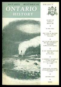 image of ONTARIO HISTORY - Volume 57, number 1 - March 1965