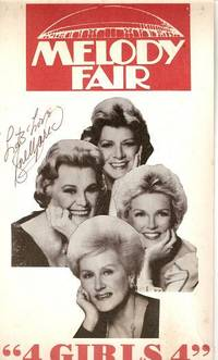 """4 GIRLS 4""  poster:; Starring Rosemary Clooney, Rose Marie, Margaret Whiting, Helen O'Connell  [signed by three]"