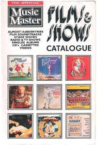 image of The Official Music Master Films & Shows Catalogue