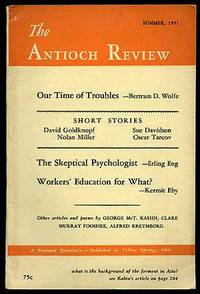 The Antioch Review: Summer, 1951