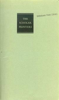image of The Scholar Printers