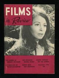 New York: National Board of Review of Motion Pictures. Near Fine. 1970. (Vol. XXI, No. 10). Periodic...