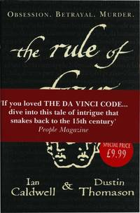 The Rule of Four (First UK Edition)