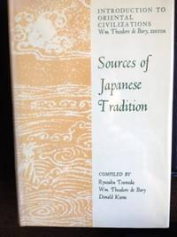 Sources of Japanese Tradition