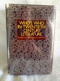 Who's Who in Twentieth Century Literature