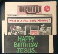 image of Truth: a Jesus paper [two issues]