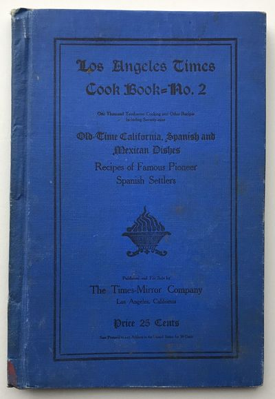 Los Angeles: Times-Mirror Co, 1905. Good plus.. 105,pp. Original printed cloth boards. Light wear to...