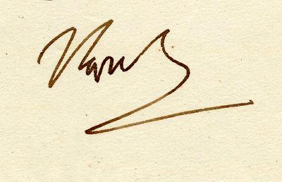 Napoleon Bonaparte Signed Letter from...