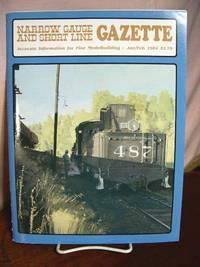 image of NARROW GAUGE AND SHORT LINE GAZETTE - JANUARY/FEBRUARY, 1984; VOLUME 9, NUMBER 6.