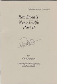 Rex Stout's Nero Wolfe Part II [SIGNED]