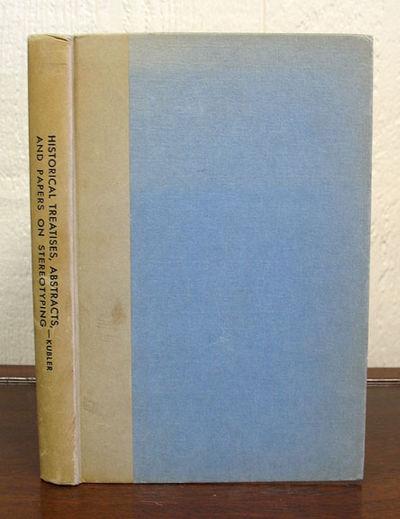 NY, 1936. 1st edition. VG (some pencil underlining btwn ppg 12 - 22). No dj.. 169 pp. 8vo.