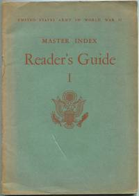 image of Master Index: Reader's Guide: I: United States Army in World War II