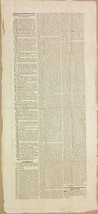 PENOBSCOT COUNTY ADMINISTRATION CONVENTION by [1828 Elections: Maine] - 1828 - from David M. Lesser, Fine Antiquarian Books LLC (SKU: 35196)