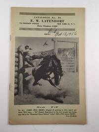 E. W. Latendorf Catalogue # 26
