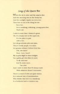Song of the Queen Bee Keepsake