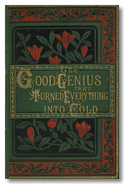 London & New York: Routledge, 1879. Forest green cloth, elaborately decorated in red, black and gilt...