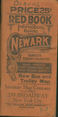 image of RED BOOK INFORMATION GUIDE TO NEWARK, HARRISON, KEARNY & ARLINGTON