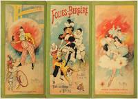 Carte programme des Folies-Bergère, 1897 [lithographie en couleurs]