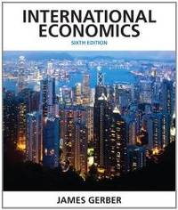 image of International Economics (6th Edition) (Pearson Economics)