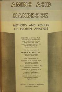 image of Amino Acid Handbook Methods and Results of Protein Analysis