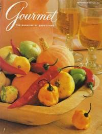 image of GOURMET ~ The Magazine of Good Living ~ November 1987