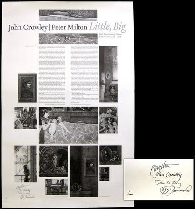 : Incunabla. 2007. The lettered limited edition of this poster, a broadside excerpt from Crowley's 1...