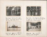 PHOTOGRAPH ALBUM OF 50 VERNACULAR IMAGES TAKEN ON A SEA VOYAGE FROM ENGLAND TO CEYLON, AND ON TO AUSTRALIA, IN 1904