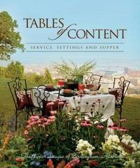 Tables of Content-- Service, Settings, and Supper