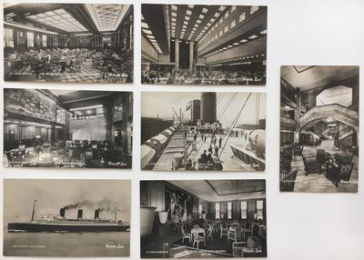 Rochester: Schaefer-Ross Company. Postcards. Black and white photography. 3 1/2