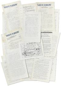 A Collection of Original Press Releases for the March On Washington for Jobs and Freedom, 1963