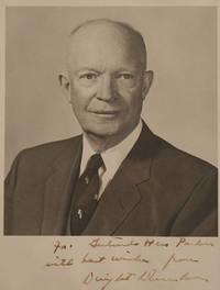 Portrait photograph of Dwight David Eisenhower