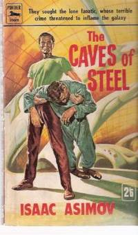 image of The Caves of Steel ---by Isaac Asimov