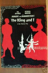 THE KING AND I A New Musical Play