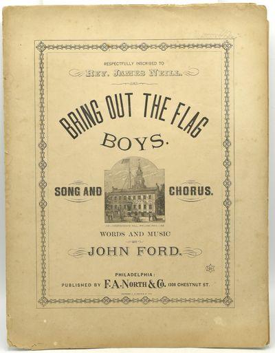 Philadelphia: F. A. North & Co, 1876. 13 7/8 x 10 5/8