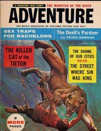 Adventure (Vintage adventure magazine, September 1956)