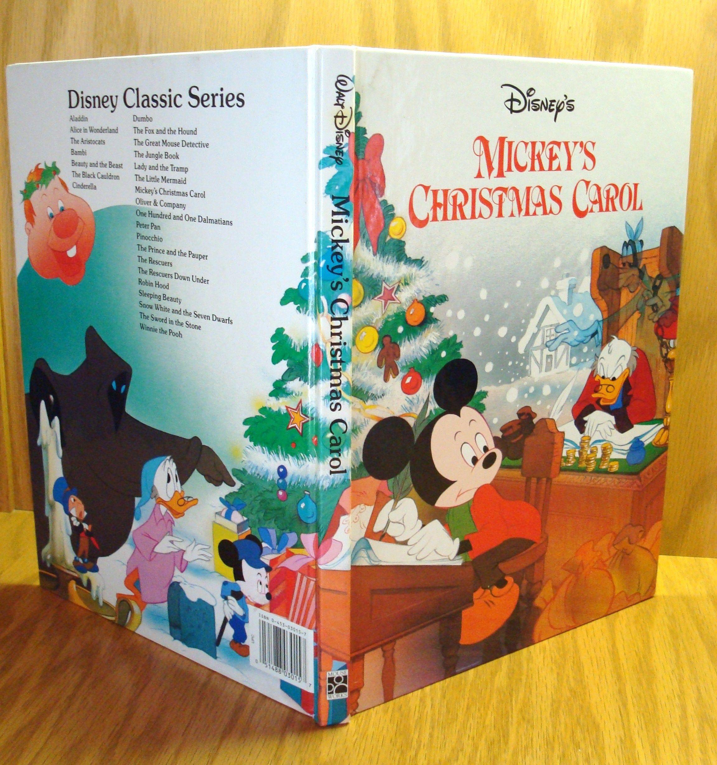 Mickey's Christmas Carol By N/a