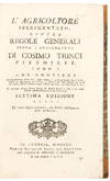 View Image 1 of 2 for L'Agricoltore Sperimentato, Ovvero Regole Generali Sopra L'Agricoltura ... Settima Edizione Inventory #37769