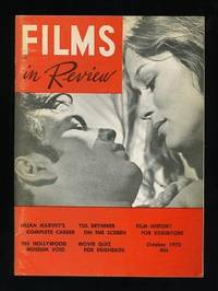 New York: National Board of Review of Motion Pictures. Very Good+. 1970. (Vol. XXI, No. 8). Periodic...
